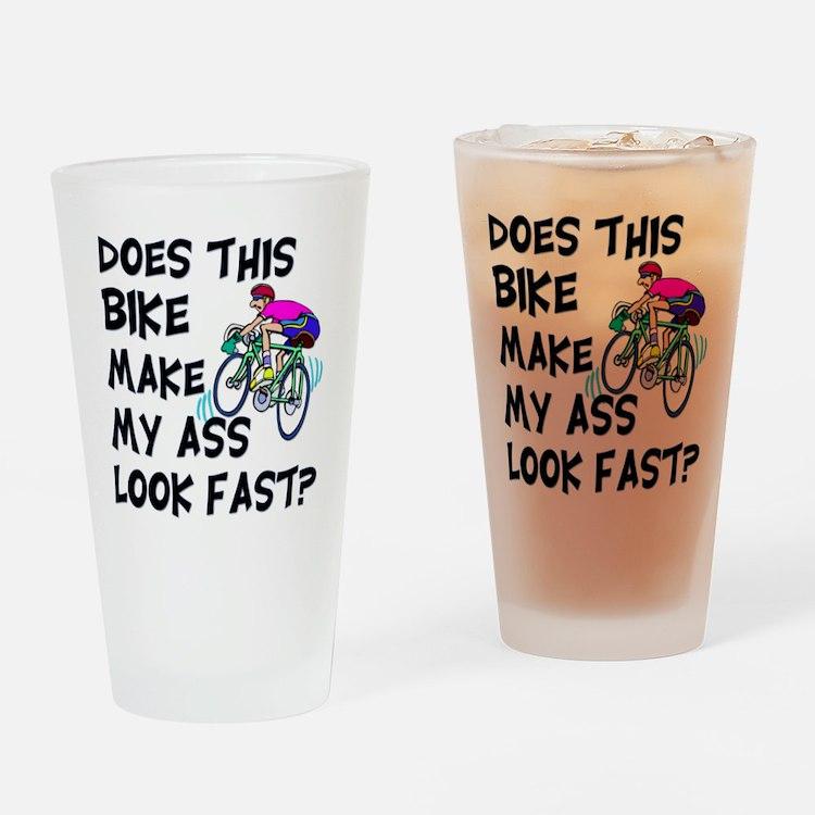 Funny Bike Saying Drinking Glass