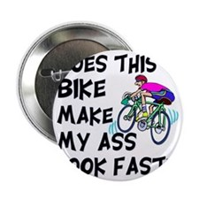 "Funny Bike Saying 2.25"" Button"