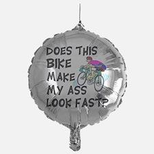 Funny Bike Saying Balloon