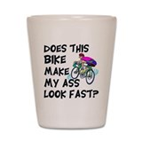 Funny bicycle Shot Glasses