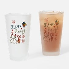 Love Birds Drinking Glass