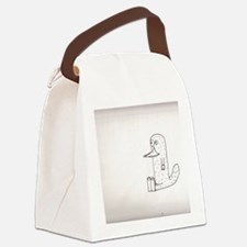 Creative Platypus Canvas Lunch Bag