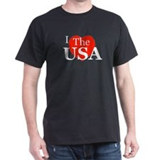 I Love The USA T-Shirt