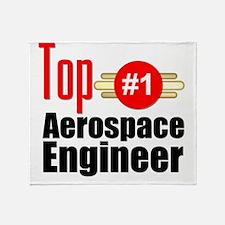 Top Aerospace Engineer   Throw Blanket