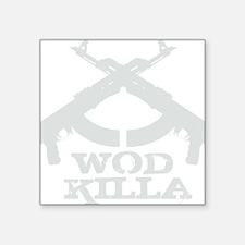"""WOD Killa Square Sticker 3"""" x 3"""""""
