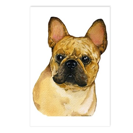 French Bulldog, Frenchie Postcards (Package of 8)