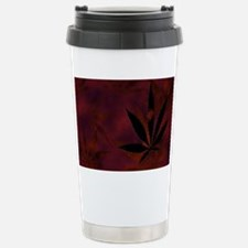 Weed Scatter Stainless Steel Travel Mug