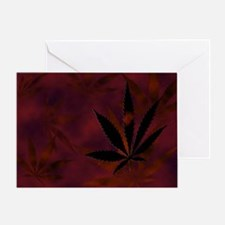 Weed Scatter Greeting Card