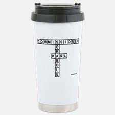 CAMPBELL SCRABBLE-STYLE Travel Mug