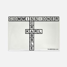 CAMPBELL SCRABBLE-STYLE Rectangle Magnet