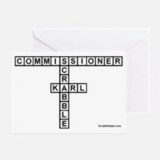 CAMPBELL SCRABBLE-STYLE Greeting Card