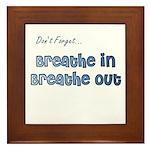 The Gentle Reminder Framed Tile