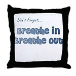 The Gentle Reminder Throw Pillow