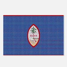 BIG GUAM FLAG Postcards (Package of 8)