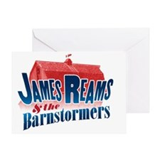 James Reams and the Barnstormers Greeting Card