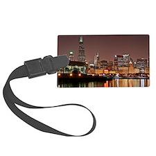 Chicago Skyline Luggage Tag