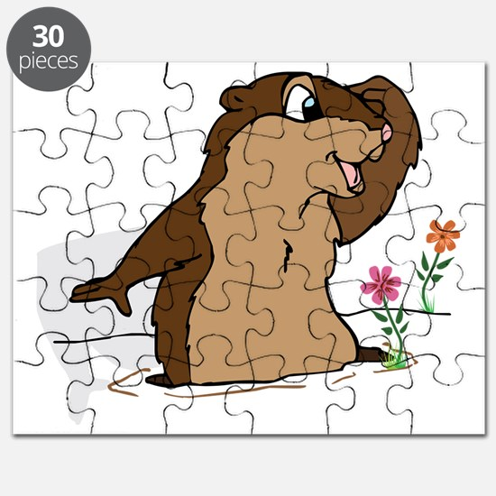 Groundhog Day Shadow Puzzle