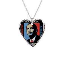 Barack Obama Victory Necklace