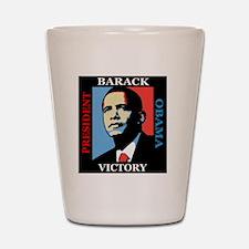 Barack Obama Victory Shot Glass