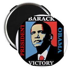 Barack Obama Victory Magnet