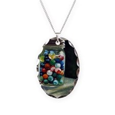 Jar of marbles Necklace