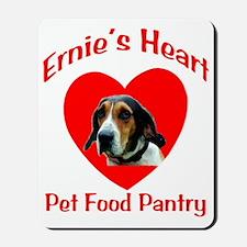 Ernie's Heart Logo Mousepad