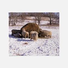 Ewes Very Fluffy! Throw Blanket