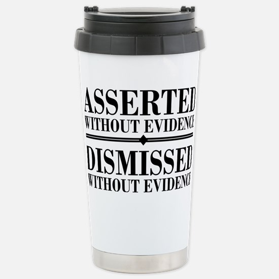 withoutevidencerectangl Stainless Steel Travel Mug