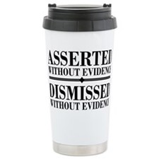 withoutevidencerectangl Travel Mug