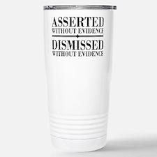 withoutevidencerectangl Travel Mug