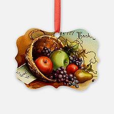 FRUIT BASKET - Ornament