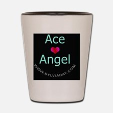 Ace [heart] Angel Shot Glass