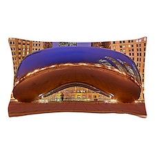 Cloud Gate Pillow Case