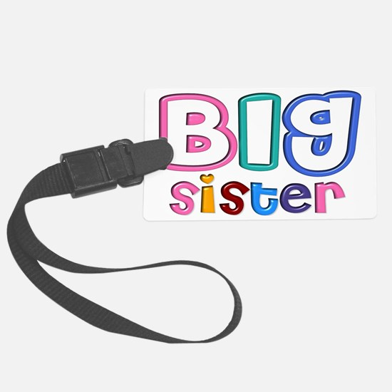 34 Effect Big Sister Design Large Luggage Tag