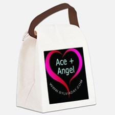 Ace + Angel Canvas Lunch Bag