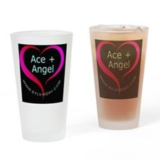 Ace + Angel Drinking Glass