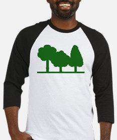 Forest Be With You Baseball Jersey