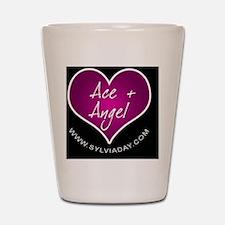 Ace + Angel [heart] Shot Glass