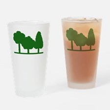 Forest Be With You Drinking Glass