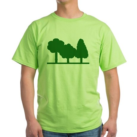 Forest Be With You Green T-Shirt