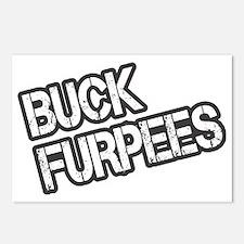 Buck Furpees Postcards (Package of 8)