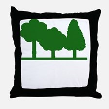 Forest Be With You Throw Pillow