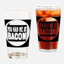 baconbutton Drinking Glass