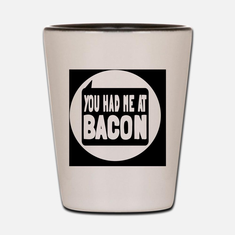 baconbutton Shot Glass