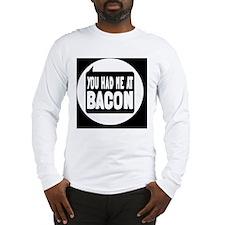 baconbutton Long Sleeve T-Shirt