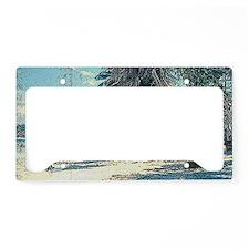 Tumon Beach 1950s License Plate Holder
