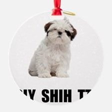 Holy Shih Tzu Ornament