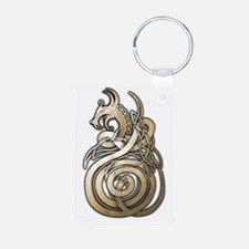 Norse Dragon Keychains