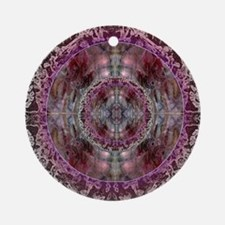 LAW OF ATTRACTION MANDALA Round Ornament