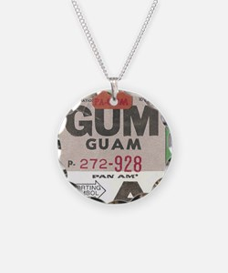 Guam Luggage Tag Necklace